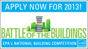Battle of the buildings 2013. Apply now!