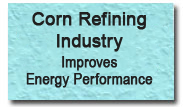 Corn refining industry improves energy performance