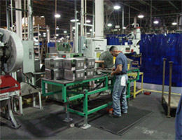 DeBourgh manufacturing shop floor