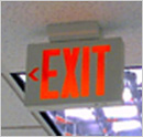 ENERGY STAR qualified exit signs