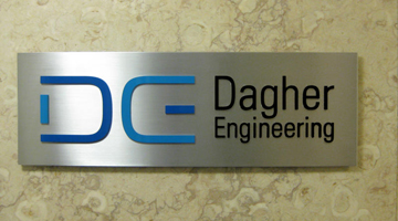Dagher Engineering sign