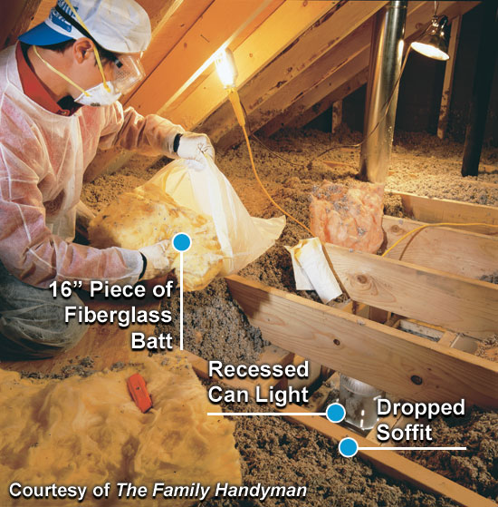 Attic Air Sealing Project Energy Star