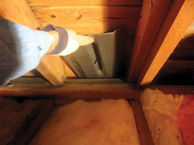 Installing Rafter Vents Energy Star
