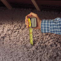 measuing insulation levels & What to Look For: DIY Checks and Inspections | ENERGY STAR