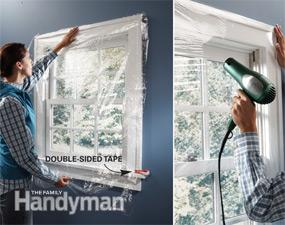 Applying Plastic Over Windows Project Energy Star