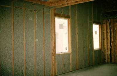 An insulated wall