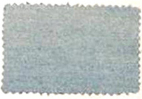 Fabric swatch showing fading