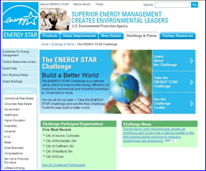 EPA Launches New Phase of ENERGY STAR Challenge