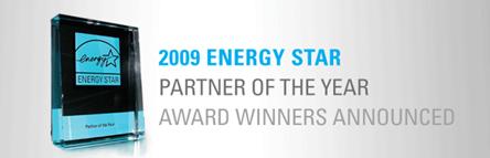 2009 ENERGY STAR Partner of the Year Award Winners Announced