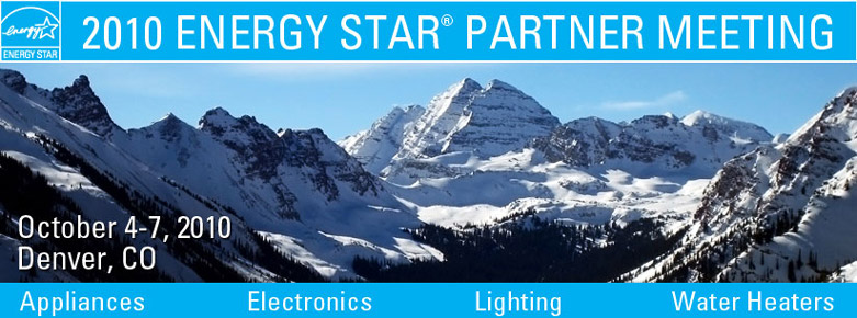 2010 ENERGY STAR Partner Meeting banner