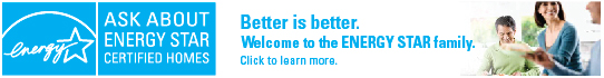 Better is better. Welcome to the ENERGY STAR family banner.