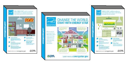 ENERGY STAR event booth display panels