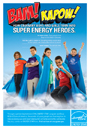 Boys and Girls Clubs of America are bringing super energy saving ideas home!
