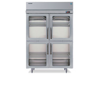 Commercial refrigerator graphic