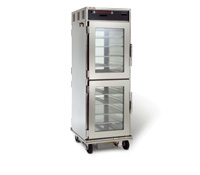 Commercial hot food holding cabinet graphic