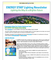 Winter 2017 Lighting Partner Newsletter