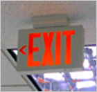 Exit Sign Is Important
