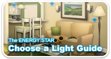 Choose a light guide home illustration
