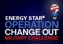 OPERATION CHANGE OUT - Military bases across the country are taking the pledge!
