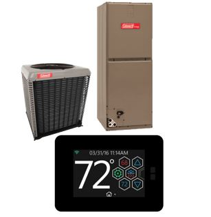 Coleman AC21B Series with Hx™ Touch-Screen Thermostat