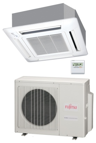 Fujitsu RLFCC Series with Inverter Control