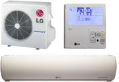 LG LSU/LSN Series with Comfort Alert™ Control