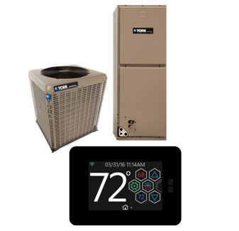York YXV Series with Hx™ Touch-Screen Thermostat