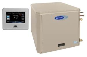 Carrier GZ Series with Infinity Thermostat