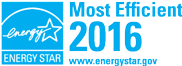 ENERGY STAR Most Efficient in 2016
