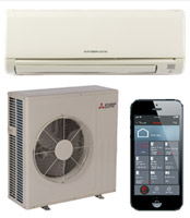 Mitsubishi GE Series models with Kumo Cloud Controller
