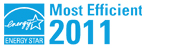 ENERGY STAR Most Efficient in 2011