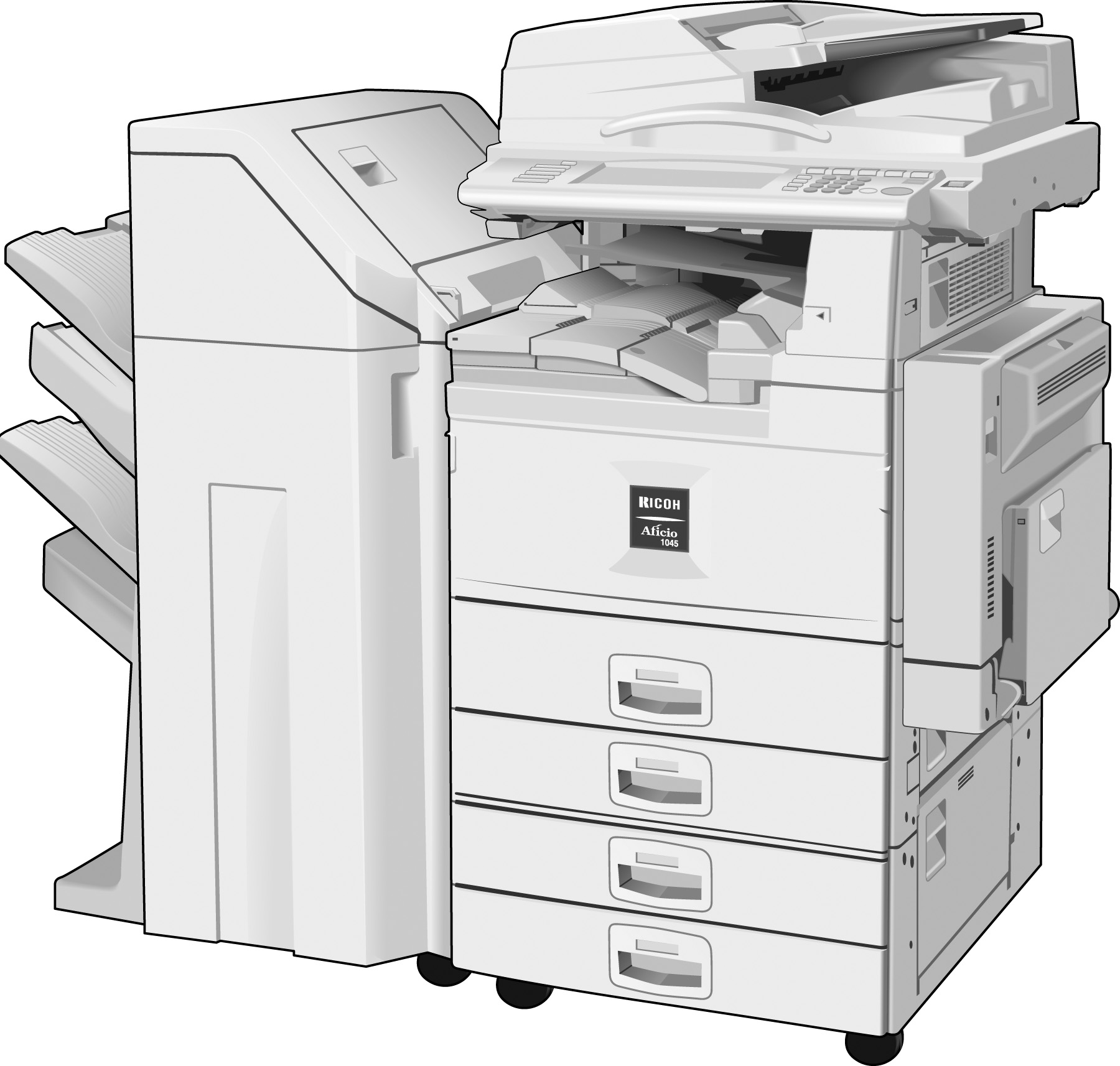 ... View Ricoh's Copier of the Future ...