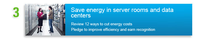 Save energy in the data center. Review the top 12 ways to cut energy costs
