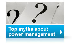 Top myths about power management