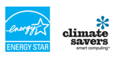 ENERGY STAR and Climate Savers logos