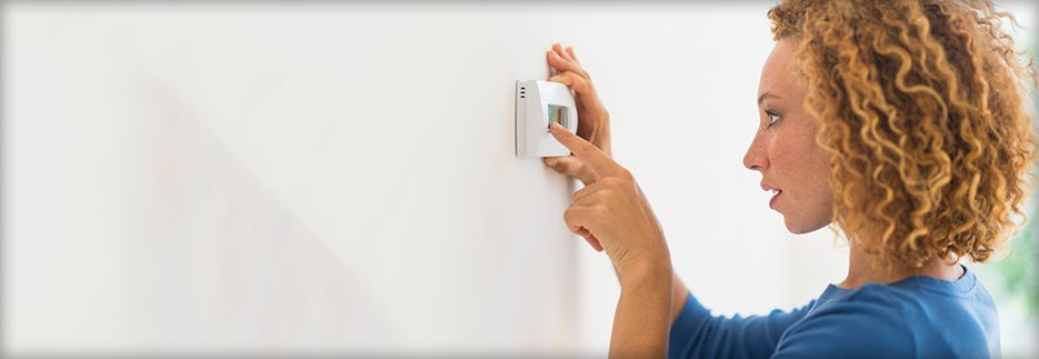 Set back your thermostat when you're asleep or away