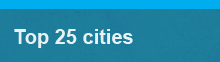 Top 25 cities