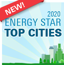 2020 ENERGY STAR Top Cities