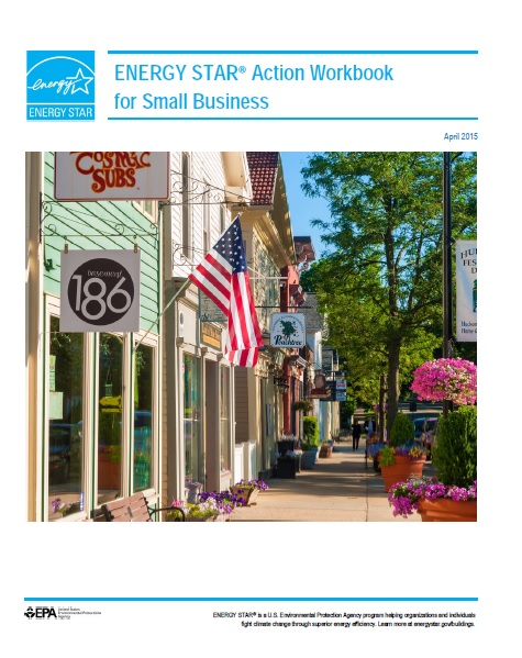 First page of the ENERGY STAR Action Workbook for Small Business.