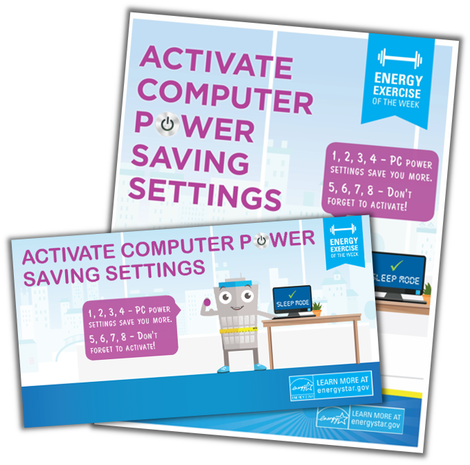 Activate Computer Power-Saving Settings