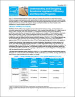 screenshot of the Appliance Program Guide for Energy Efficiency Program Sponsors