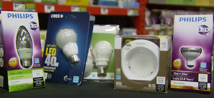 light bulb packages
