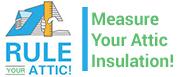 Rule your attic; measure your attic insulation!