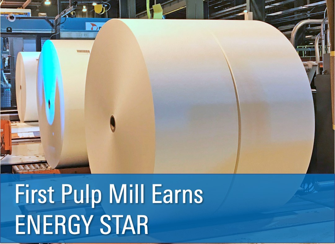 First Pulp Mill Earns ENERGY STAR