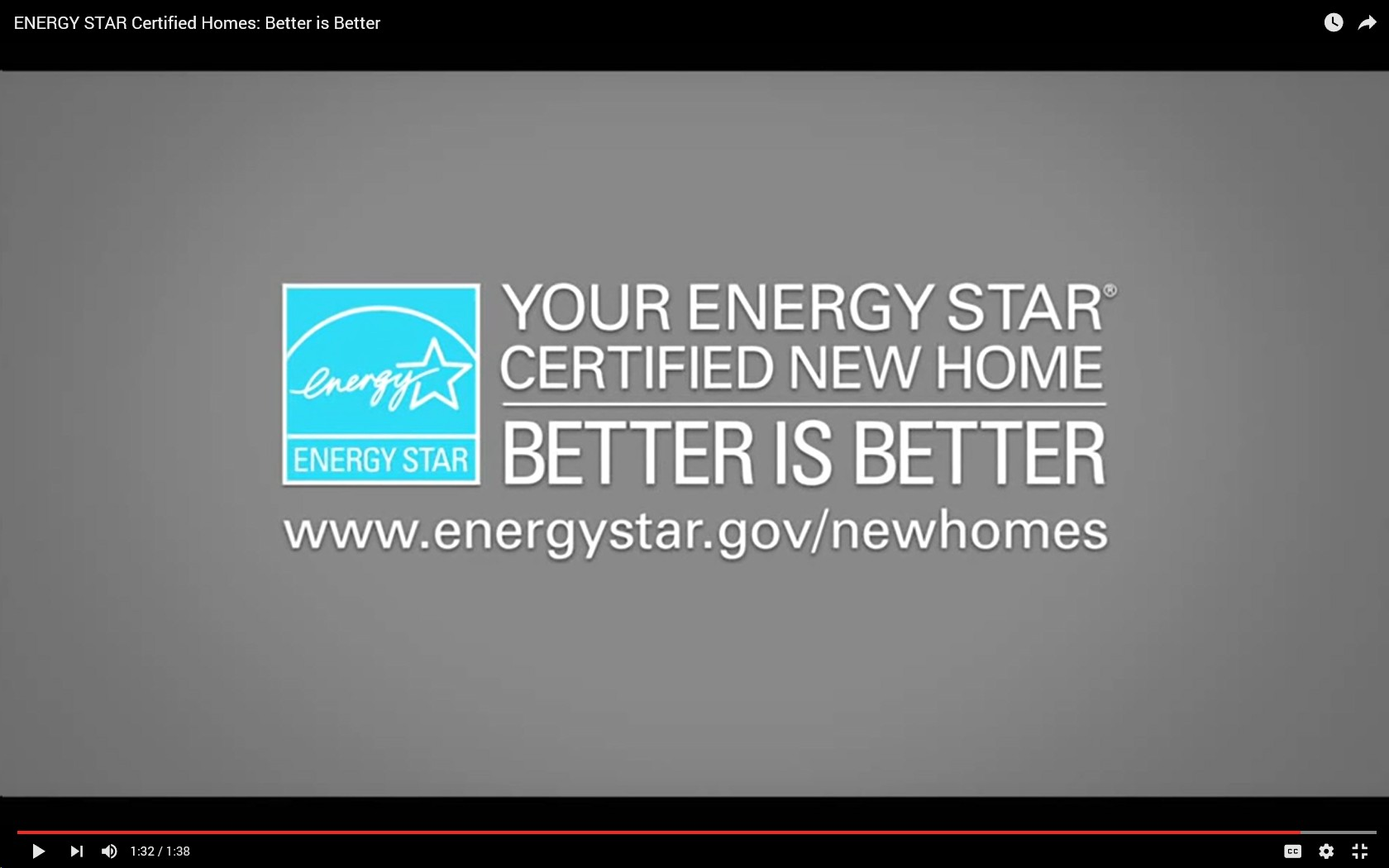 ENERGY STAR Certified Homes Video - Better is Better (short version)