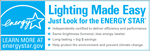 Thumbnail of the ENERGY STAR Lighting Stand Alone Mark (JPG)