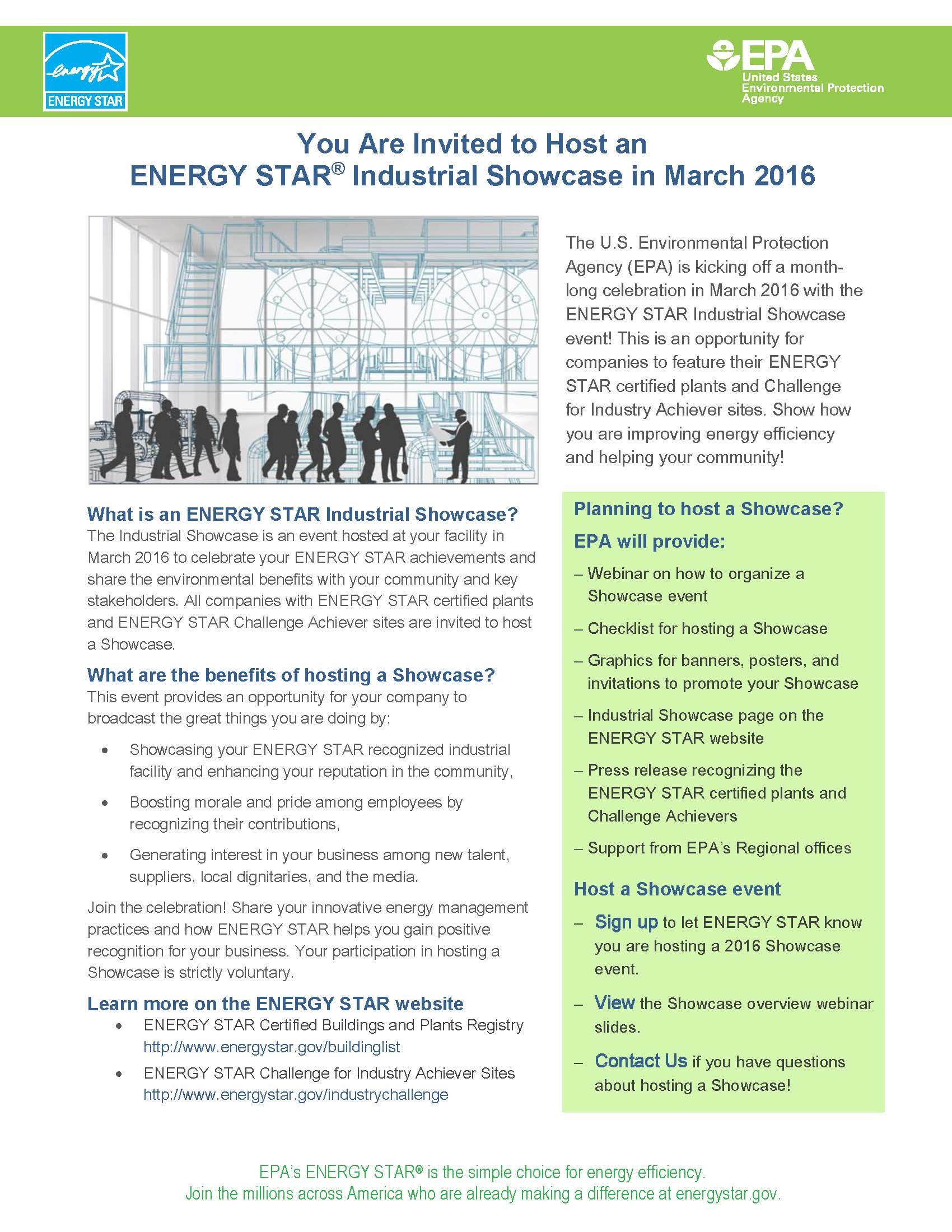 ENERGY STAR Industrial Showcase flyer thumbnail