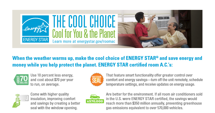 Cool Choice Room AC Factsheet