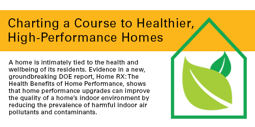 Charting a course to healthier, high-performance homes