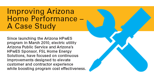 Improving Arizona Home Performance - A Case Study